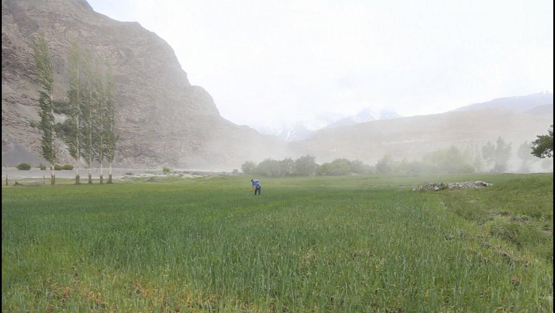 Un coin de paradis, au Tadjikistan.