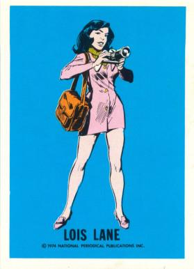 Lois Lane, personnage de fiction, créée en 1938.