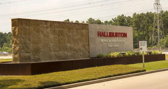 Siège de l' entreprise multinationale Halliburton au Texas.